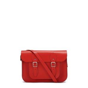 Brighton Red 11 inch Classic Satchel |Cambridge Satchel Company
