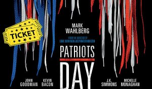 Free!Patriots Day (Movie Ticket)