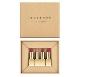 $40BURBERRY Festive Mini Lip Velvet Set