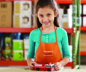 Free Fire TruckKids Workshop @ Home Depot