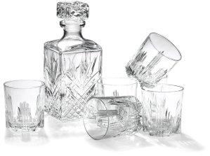 Bormioli Rocco Selecta 7-Piece Whiskey Gift Set