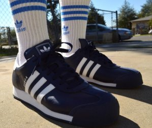 $41.99 Men's adidas Samoa Casual Shoes @ FinishLine.com