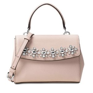 MICHAEL Michael Kors Ava Jewel Mini Crossbody - MICHAEL Michael Kors - Handbags & Accessories - Macy's