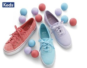 Up to 50% Offselect Keds Canvas Sneakers @ Keds