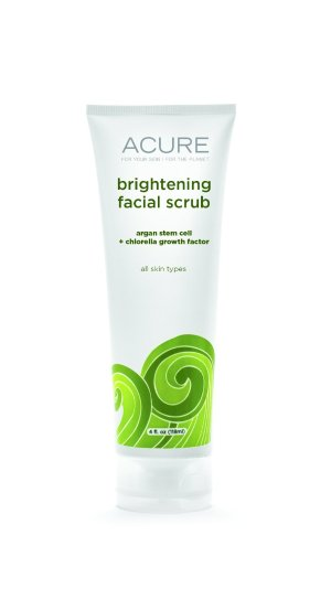 Acure Brightening Facial Scrub, 4 Ounce