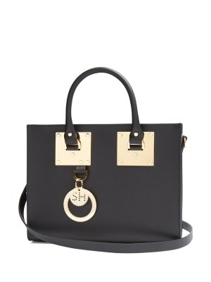$572Sophie Hulme Medium Albion Leather Box Bag @ MATCHESFASHION.COM