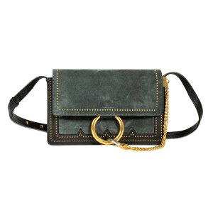 Faye Small Shoulder Bag Chloé Black - Monnier Frères