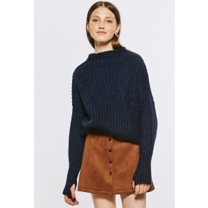 Pre-Order Chelsea Ribbed Sweater In Navy TP1566