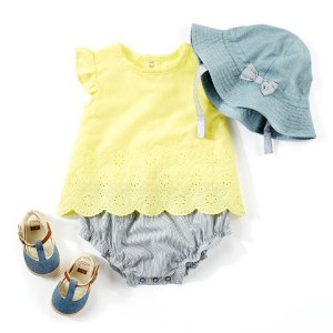 Up to 50% Off + Extra 25% Off $40Semi-Annual Big Baby Sale @ Carter's
