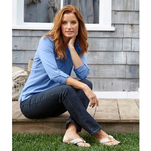 Women's True Shape Jeans, Slim-Leg | Now on sale at L.L.Bean