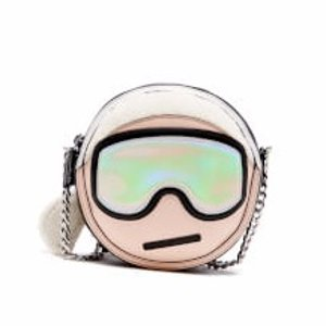 Karl Lagerfeld Women's Holiday Karl Cross Body Bag - Nude
