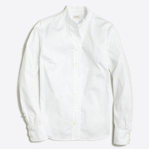 Ruffle shirt : button-ups | J.Crew Factory