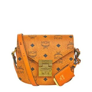 MCM Patricia Visetos Mini Shoulder Bag