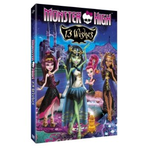 MONSTER HIGH™ 13 Wishes DVD