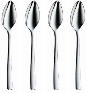 WMF Manaos / Bistro Grapefruit Spoon, Set of 4