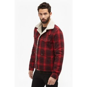 Wilde Wool Borg Detail Jacket