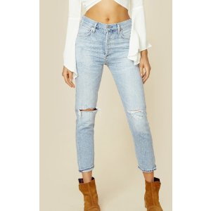 Citizens Of Humanity liya non-selvedge high rise jeans