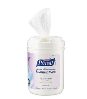 PURELL 9031-06 Antimicrobial Sanitizing Wipes (175 Count)  6 Pack