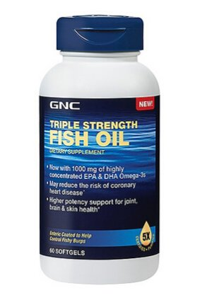 Ending today! From $8.99 Select Triple Strength Fish Oil @ GNC
