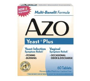 $6.89 AZO Yeast Plus tablets, 60 each