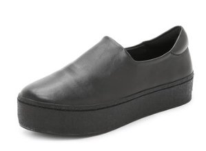 Opening Ceremony Cici Slip On Leather Platform Sneakers