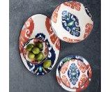 Ikat Melamine Bowls, Set of 4