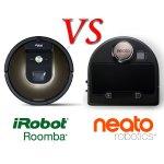 美国最热门的iRobot和Neato扫地机器人功能对决