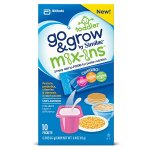 Go & Grow by Similac Food Mix-ins Non-GMO Powder Packs, Toddler Food Nutrients,Stick Packs, 40 count