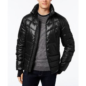 MICHAEL Michael Kors Men's Stretch-Panel Down Ski Jacket - Coats & Jackets - Men - Macy's