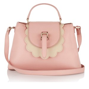 meli melo Women's Flavia Scalloped Edged Tote Bag - Orchid - Free UK Delivery over £50