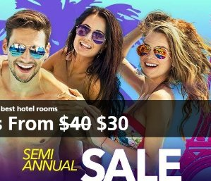From $30 Semi Annual Sale @ Caesars Entertainment
