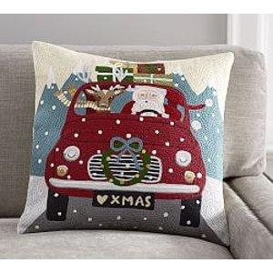 Christmas Pillows & Throws   Pottery Barn
