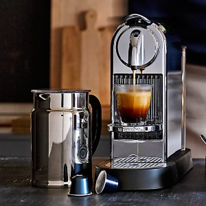 Nespresso CitiZ & Milk Espresso Maker + $20 Gift Card