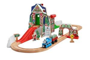 Fisher-Price Thomas the Train Wooden Railway Santa's Workshop Express