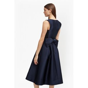 Juliet Satin Bow Midi Dress | Sale | French Connection Usa