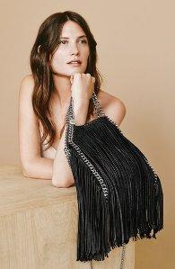 As Low As $1190 Stella Mccartney Fringed Shoulder Bag Sale @ Mytheresa