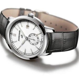 JeanRichard Men's 1681 Ronde Small Second Watch 60310-11-131-AA6