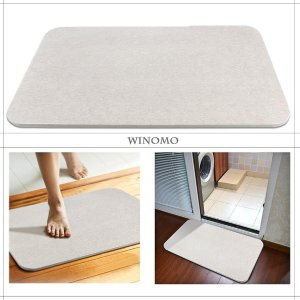 50% Off! WINOMO Natural Antibacterial Anti-Slip Bathroom Mat