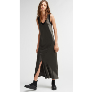 front slit tank dress | DKNY.com
