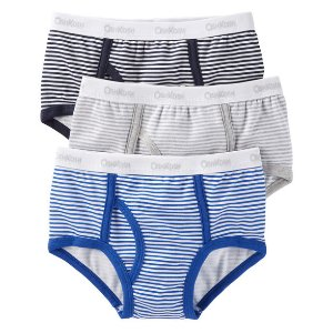 Toddler Boy 3-Pack Cotton Briefs | OshKosh.com