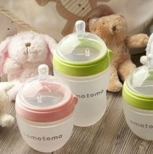 $22.99 Comotomo Baby Bottle, 8 Ounce, 2 Count @ Amazon
