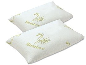 $34.99 Simmons Curv™ Rayon Bamboo Pillows-2Pk