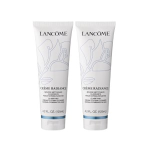BOGO + $20 Off $40 Lancôme Creme Radiance Cream-To-Foam Cleanser BOGO@ HSN