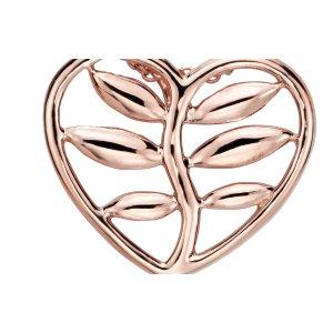 Vine Heart Pendant in 14k Rose Gold   Blue Nile