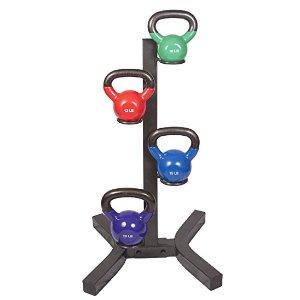 j/fit 壶铃4个 带架子