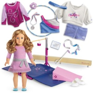 Truly Me Gymnastics Collection (Includes Choice of Truly Me Doll)