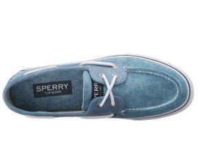 Sperry Top-sider Men's Bahama Two-Eye White Cap Boat Shoe