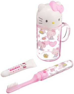 From $6.67 Sanrio Kids Toothbrush Travel Set