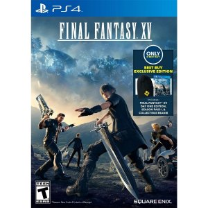 $75 Day One Edition+Season Pass+Beanie Final Fantasy XV Best Buy Exclusive Edition