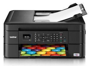 $59.99 Brother WorkSmart Series MFC-J460DW All-in-One Inkjet Printer with Additional High Yield Black Ink Cartridge Kit
